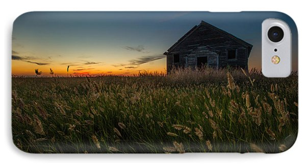 Forgotten On The Prairie IPhone Case by Aaron J Groen