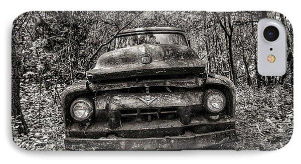 Forgotten Truck IPhone Case by Michaela Preston