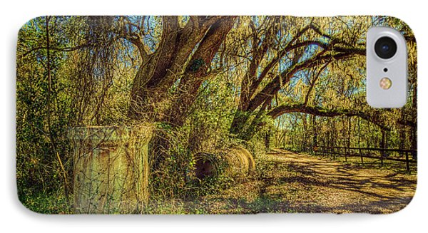 Forgotten Under The Oaks IPhone Case by Lewis Mann