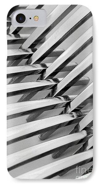 Forks I Phone Case by Natalie Kinnear