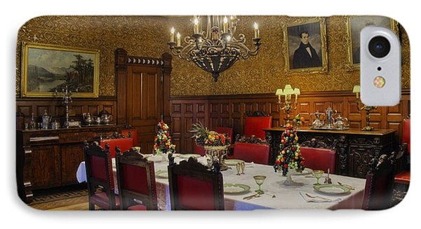 Formal Dining Room IPhone Case by Susan Candelario