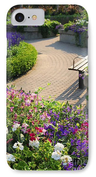 Formal Garden IPhone Case by Elena Elisseeva