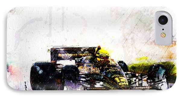 Formula 1 John Player Special IPhone Case by Gary Bodnar