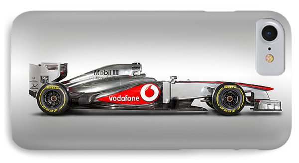 Formula 1 Mclaren Mp4-28 2013 IPhone Case by Gianfranco Weiss