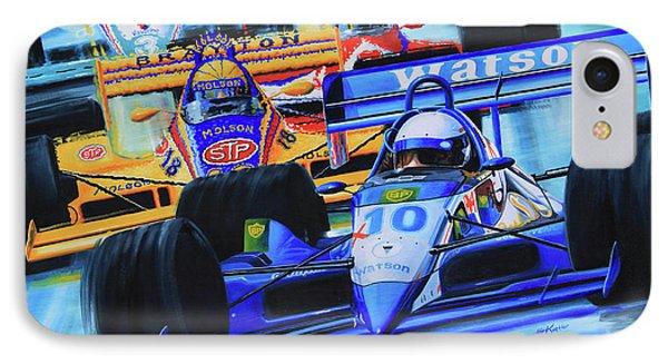 Formula 1 Race Phone Case by Hanne Lore Koehler