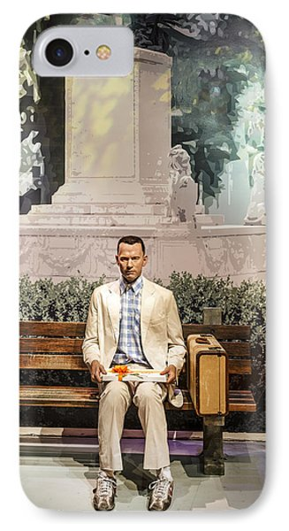 Forrest Gump IPhone Case by Mountain Dreams
