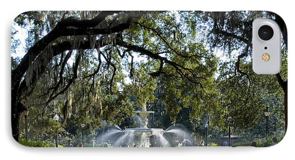 Forsythe Park IPhone Case by Diana Powell
