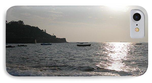 Fort Aguada Beach IPhone Case by Mini Arora