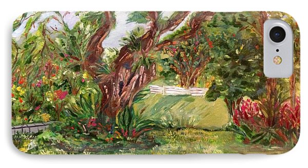 IPhone Case featuring the painting Fort Canning Wonderland by Belinda Low