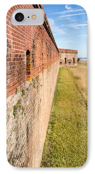 Fort Clinch IPhone Case by Wade Brooks