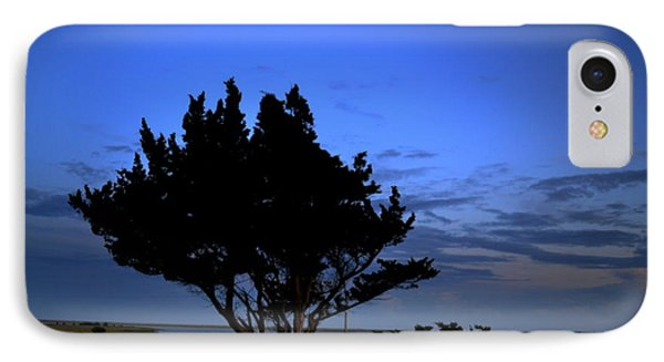 Fort Fisher Moonrise  IPhone Case