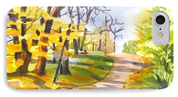 Fort Hill In Arcadia Phone Case by Kip DeVore