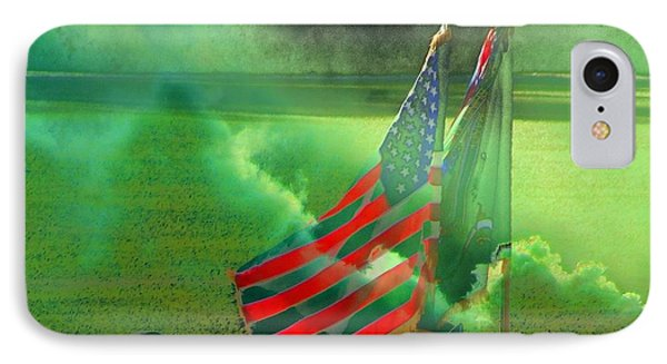 Fort Jackson Ceremony IPhone Case by Cathy Lindsey
