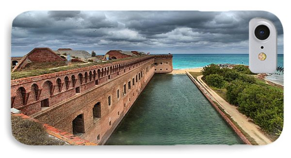 Fort Jefferson Moat IPhone Case
