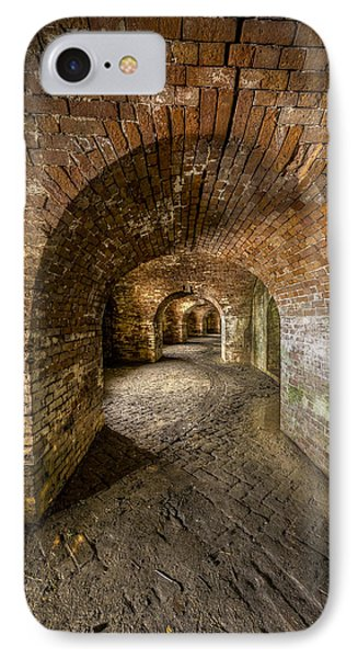 Fort Macomb Arches Vertical Phone Case by David Morefield