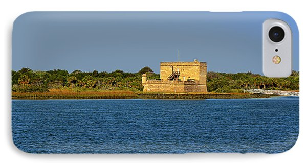 Fort Matanzas - Saint Augustine Florida Phone Case by Christine Till