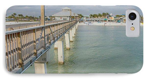 Fort Myers Beach Phone Case by Kim Hojnacki