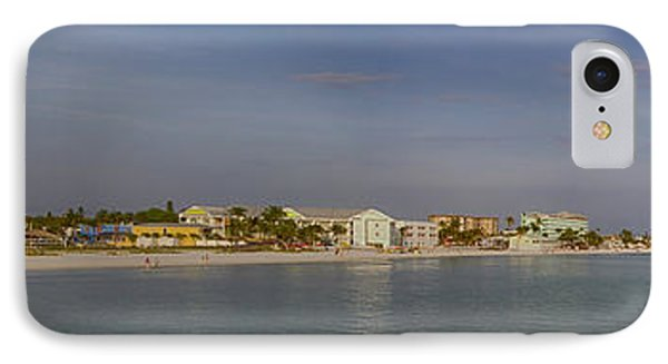 Fort Myers Beach Panorama IPhone Case by Anne Rodkin