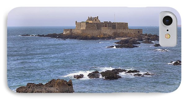 Fort National - Saint-malo Phone Case by Joana Kruse