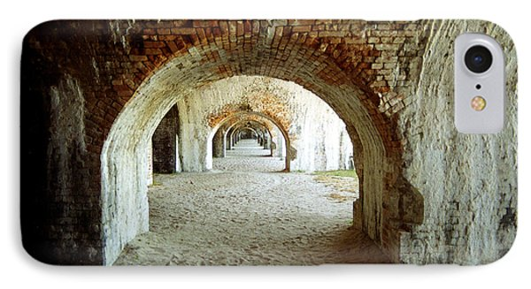IPhone Case featuring the photograph Fort Pickens Arches by Tom Brickhouse