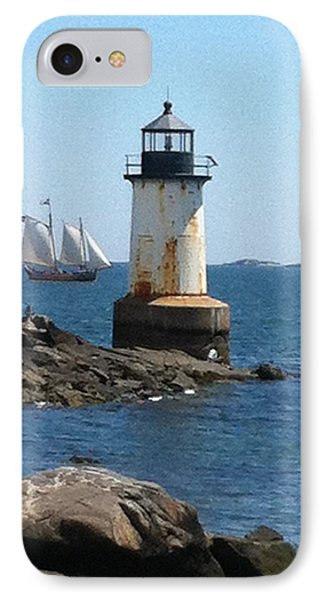 IPhone Case featuring the photograph Fort Pickering Light by Denyse Duhaime