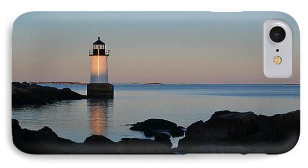 Fort Pickering Lighthouse Winter Island Salem Ma IPhone Case by Toby McGuire