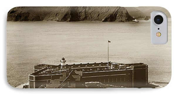 Fort Point And The Golden Gate San Francisco Circa 1890 Phone Case by California Views Mr Pat Hathaway Archives