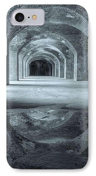 Fort Point Arches Bw IPhone Case