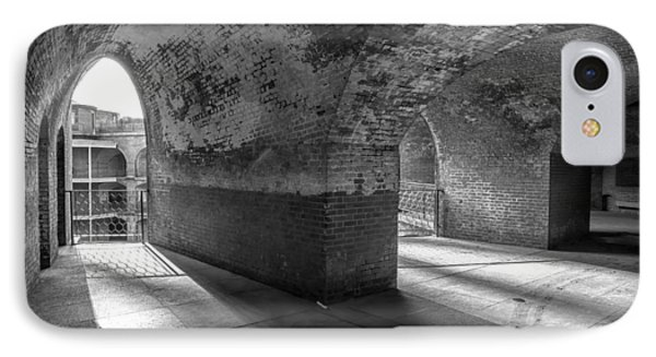 Fort Point Bw IPhone Case