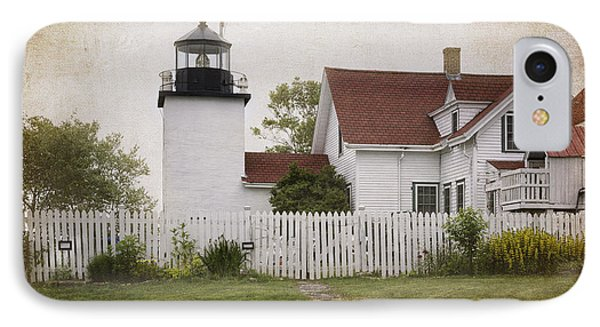 Fort Point Lighthouse IPhone Case by Joan Carroll