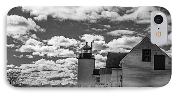 Fort Point Lighthouse Phone Case by Robert Clifford
