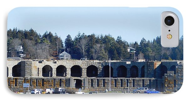 Fort Popham In Maine IPhone Case by Catherine Gagne