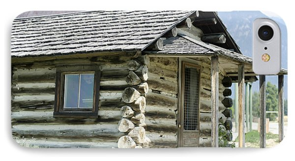Fort Steele Cabin IPhone Case by Margaret Buchanan