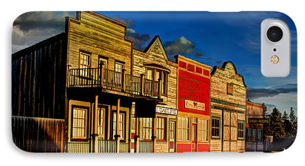 IPhone Case featuring the photograph Fort Steele by Rob Tullis