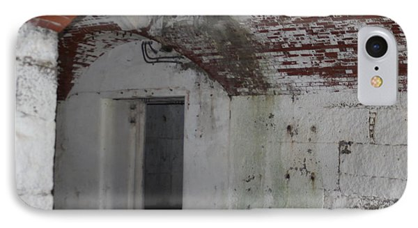 Fort Warren Battery Stevenson Magazine Hoist Room IPhone Case