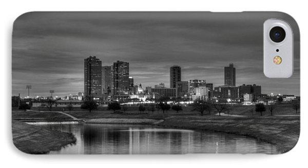 Fort Worth IPhone Case by Jonathan Davison