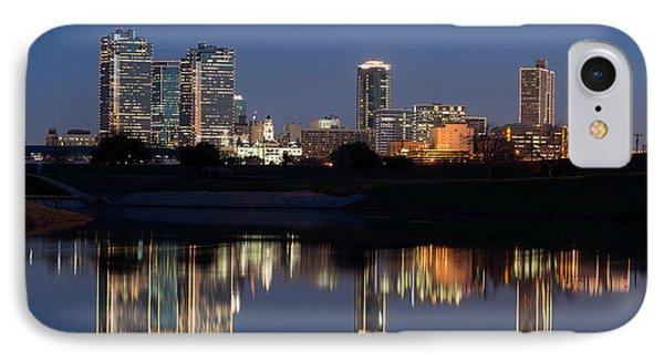 Fort Worth Skyline 020915 IPhone Case