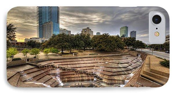 Fort Worth Water Garden IPhone Case by Jonathan Davison