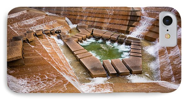 Fort Worth Water Gardens IPhone Case by Inge Johnsson