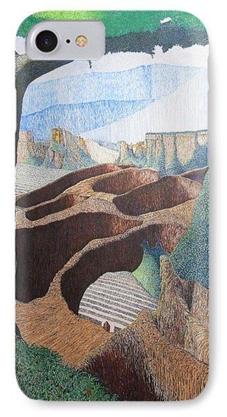 IPhone Case featuring the painting Forte Rest by A  Robert Malcom