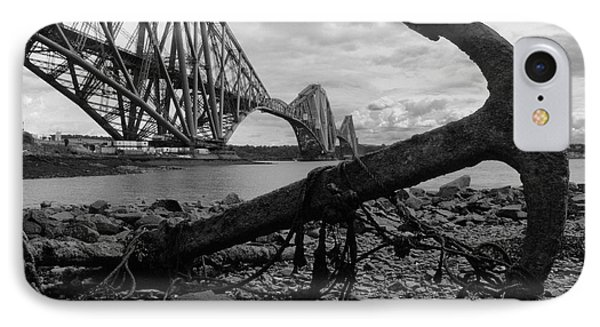 Forth Bridge Anchor IPhone Case by Jeremy Voisey