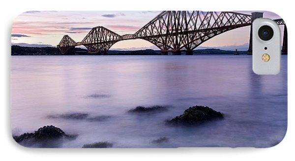 Forth Bridge At Sundown IPhone Case by Stephen Taylor