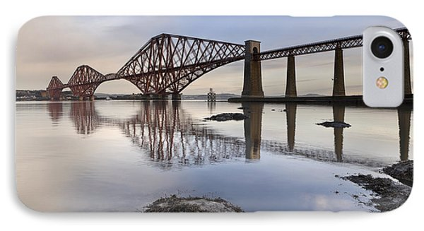 Forth Bridge IPhone Case by Rod McLean