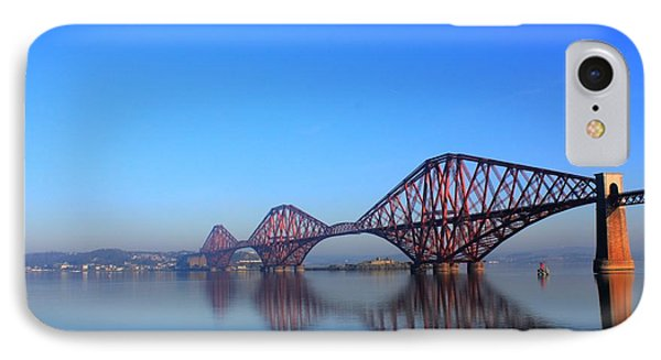 IPhone Case featuring the photograph Forth Rail Bridge by David Grant