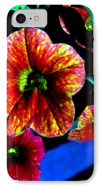 Fortinos Petunias Phone Case by Danielle  Parent