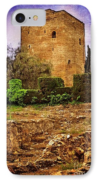 Fortress Tower Phone Case by Mary Machare