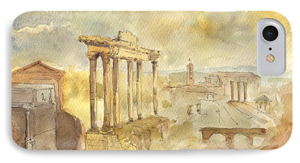 Forum Romano IPhone Case