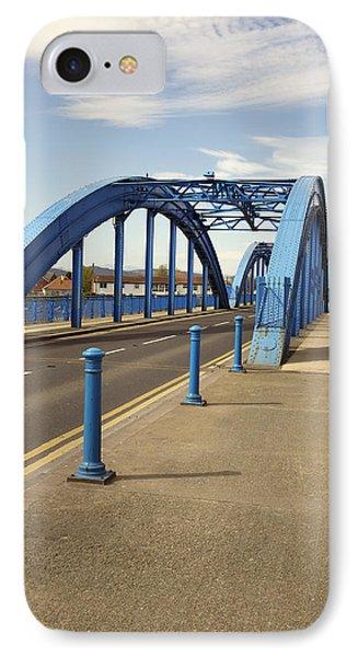Foryd Bridge Phone Case by Christopher Rowlands