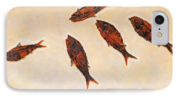 Fossilized Fishbritish Columbia Canada Phone Case by Thomas Kitchin & Victoria Hurst