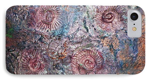 Fossils 1 Phone Case by Carol Rowland